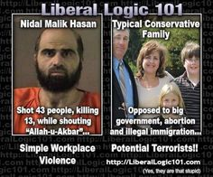 Liberal Logic aka: Mind-numbing ignorance