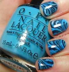 Let them have Polish!: Muffin Mon... Er... Tuesday? O.P.I Euro-Marble