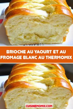 Brioche au yaourt et au fromage blanc au Thermomix, Thermomix Desserts, Did You Eat, Beignets, Food Pictures, Coco, Entrees, Banana Bread, Diet Recipes, Puddings