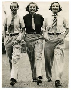 vintage everyday: Interesting Vintage Pictures of Women in Menswear