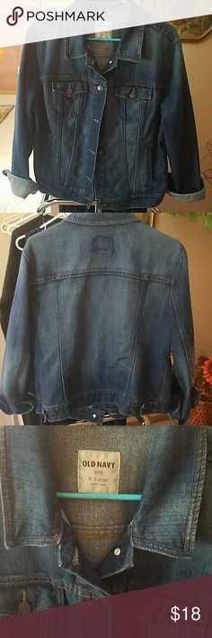 Jean jacket like new only worn a couple times. Old Navy jean jacket. Old Navy Jackets & Coats Jean Jackets