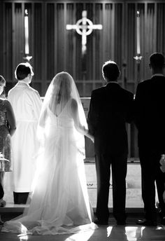 Lovely church ceremony light by Meredith Perdue