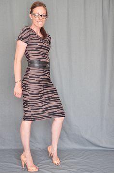30 Minute Handmade Jersey Wiggle/Sheath Dress