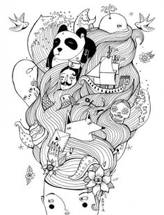 Shipwreck Illustration by Amaia Arrazola.