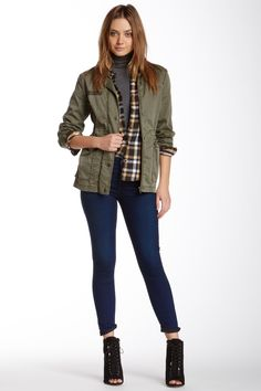 The Ankle Skinny Slim Illusion Jean by 7 For All Mankind on @HauteLook