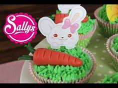 Frühlingscupcakes mit Möhren - Sallys Blog