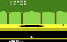 1982 - The Activision game Pitfall! was released for the Atari 2600 game system. Was Pitfall in your Atari collection? #TodayInHistory #Atari #Pitfall