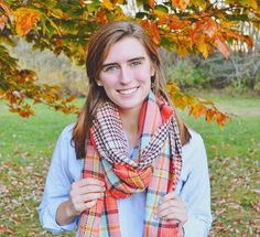 Oversized Coral Reversible Blanket Scarf
