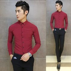 Find More Casual Shirts Information about Business Office Mens Long Sleeve Slim Shirt Smart Casual Look Stylish 5 Colors Wholesale Aliexpress Retail,High Quality shirt hoodie,China shirt satin Suppliers, Cheap shirt short sleeve men from HOTI STYLE on Aliexpress.com