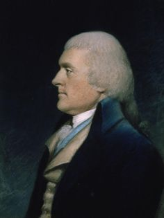 Thomas Jefferson (United States of America President) A Founding Father and author of the U. S. Declaration of Independence. During his presidency he commissioned Lewis and Clarks expedition and was key facilitator in the Louisiana Purchase. He and James Madison developed the two party system of Democrat/Republican Party.