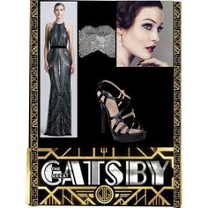 """""""Inspired by The Great Gatsby"""" by aria-s-theoneandonly on Polyvore"""