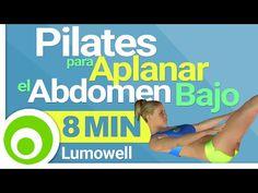 Pilates para Aplanar el Abdomen Bajo en 8 Minutos - Ejercicios para Quemar Grasa Abdominal - YouTube