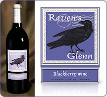 Raven's Glen Blackberry - Smooth Not super sweet, goes well with Chocolate and Fruit dishes. Harvest Market, Fruit Dishes, Blackberry, Wines, Red Wine, Alcoholic Drinks, Smooth, Fresh, Chocolate