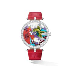 Hummingbird Extraordinary Dial™ in White Gold by Van Cleef and Arpels (=)