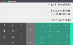 O Calculadora oferecido por Chrome OS é uma simples e estilosa extensão para o navegador de internet Google Chrome. Ela tem 29 funções para a aritmética básica, álgebra, trigonometria e matemática discreta.