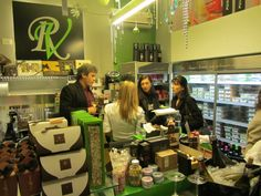 The food shop at via Beccaria in Trieste.