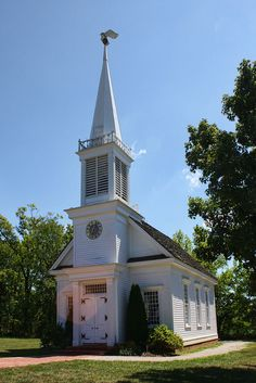 The Old Peace Chapel ~ Daniel Boone home site