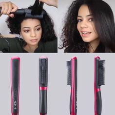 Gray Hair Highlights, Hair Streaks, Hair Brush Straightener, Hair Straightening, Hair Blower, Split Dyed Hair, Dull Hair, Silky Hair, Grunge Hair