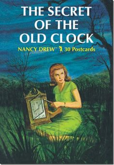 """The Secret of the Old Clock"", by Carolyn Keene.  (Young adult fiction)"