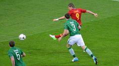 Fernando Torres (Spain) - 1st Goal - Spain 4-0 Republic of Ireland - Group C Knockout