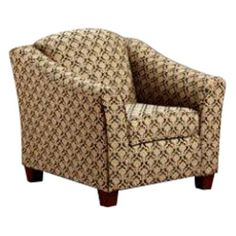 Chelsea Home Finney Ebony Lily Accent Chair - 9900-CH-FE