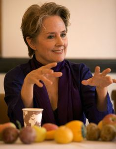 """Alice Waters, founder of the Edible Schoolyard Project, """"What we are calling for is a revolution in public education – the Delicious Revolution. When the hearts and minds of our children are captured by a school lunch curriculum, enriched with experience in the garden, sustainability will become the lens through which they see the world."""""""