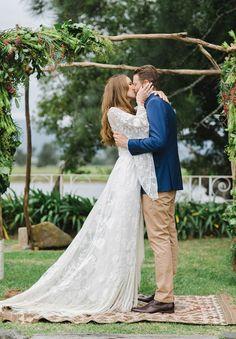Alex & Shannon | South Coast Bohemian Wedding | TBB Bride | The Babushka Ballerina | Rue De Seine
