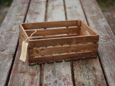 Skrzynka drewniana - dąb duża