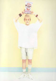 """junseungpervytroll: """"[SCAN] Beast 'Good Luck White Version' - Junhyung (x)(x)"""""""