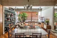 Industrial apartment located in Rio de Janeiro, Brazil, designed in 2016 by F Studio Arquitetura + Design.