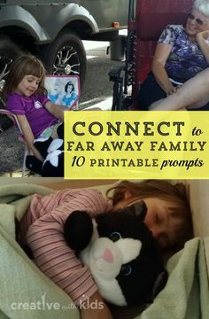 Printable List of Connection Questions for Loved Ones - Great for Grandparents!