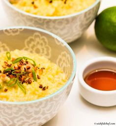 Chicken Arroz Caldo – A Filipino Christmas Rice Porridge // wishfulchef.com