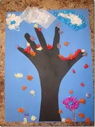 Resultado de imagem para atividades com arvores de outono no pre escolar