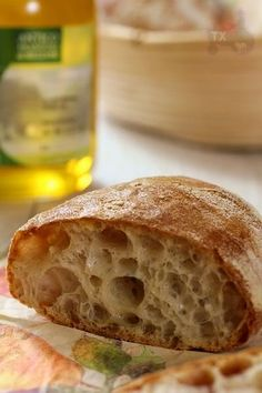 Sourdough Ciabatta Rolls - no kneading at all | The Fresh Loaf