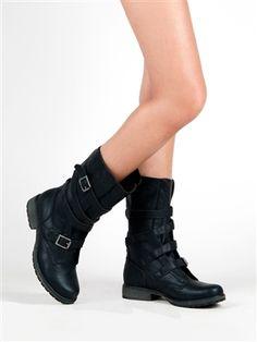 Madden Girl RASZCAL Mid Calf Combat Boots | Shop Madden Girl Shoes