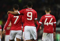 FT: #mufc 3 Ipswich 0. United are safely through to round four thanks to goals from Rooney, Pereira and Martial.