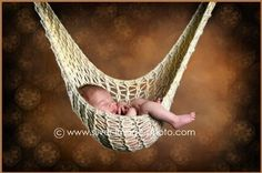 NEWBORN HAMMOCK and HANGING POD Photo Prop