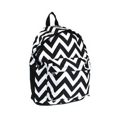 Black and White Chevron Backpack  #Unbranded #BackpackStyle