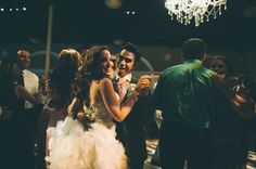 Dancing in the Grand Salon at Casa Real (photo by Ever Ours Photography).