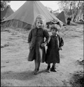 GREECE. Ioannina. 1948. Refugees from the civil war areas. David Seymour