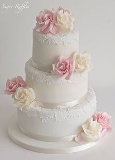 wedding cakes beach Wedding Cakes - the must see eye pleasing pin example number 2705863382 3 Tier Wedding Cakes, Elegant Wedding Cakes, Elegant Cakes, Beautiful Wedding Cakes, Beautiful Cakes, Lace Wedding, Quinceanera Cakes, Bolo Cake, Sugar Cake