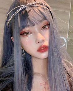 Ulzzang Korean Girl, Cute Korean Girl, Asian Girl, Pretty Korean Girls, Aesthetic Makeup, Aesthetic Girl, Cute Makeup, Makeup Looks, Japonese Girl