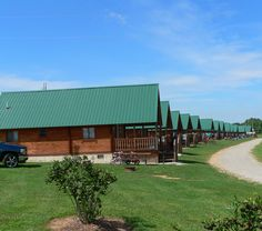 Jellystone Park, Fremont, IN... they have rustic camping, RV camping and cabins.  Their indoor heated pool is perfect for rainy days and there is tons to do nearby... buffalo preserve, chocolate factory, winery, and lots of museums.