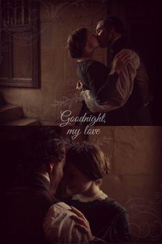 """Goodnight, my love"" <3!!! -  Jane Eyre (2011) #charlottebronte #caryfukunaga #fanart"