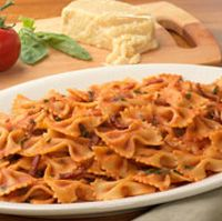 TRIPOLINI AMATRICIANA: ~ From The Olive Garden ~ Prep Time: 15 Min; Cook