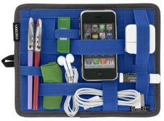 Cocoon® Grid - IT Organizer for iPad Cases Blue: Amazon.co.uk: Office Products