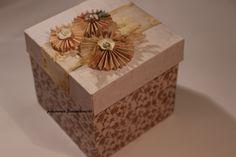 exploding box,  możesz go użyć gdy chcesz wręczyć pieniążki w atrakcyjny sposób,np. na ślubie , imieninowo,
