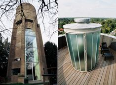 Water Tower House by Zecc Architecten — The Netherlands; gorgeous modernist conversion.
