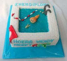 Swimmingpool  - Cake by Droomtaartjes