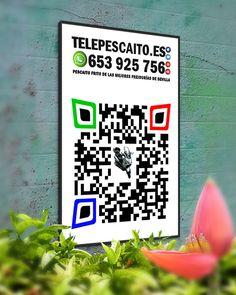 QR de nuestra Web.. Venga dale caña a tu móvil! http://www.telepescaito.es